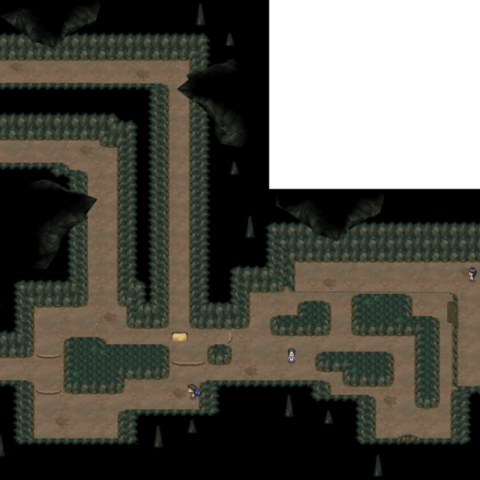 Mapa del pasadizo ancestral.