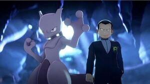 ¡El ataque de Giovanni y Mewtwo! Pokémon Masters