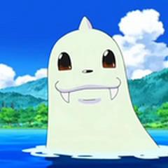 Dewgong nadando.