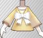 Blusa con lazo amarillo