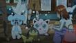 EP887 Pokémon asustados