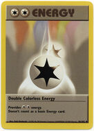 Energía incolora doble (Base Set TCG)