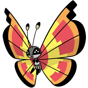 Vivillon solar (dream world)