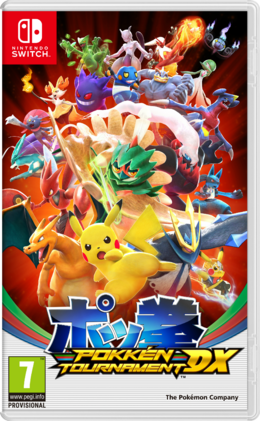 Carátula Pokkén Tournament DX
