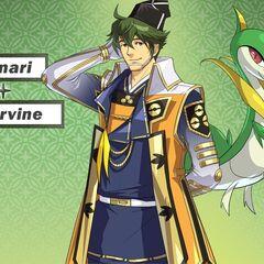 Motonari y su <a href=