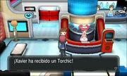 Recibiendo a Torchic XY