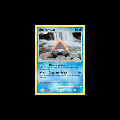 Snorunt no es un Pokémon evolucionado, por lo que se define como Básico. Tiene ataques débiles y pocos PS, además de la posibilidad de evolucionar…