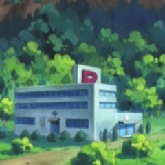El centro Pokémon de pueblo Escaso, visto desde otra perspectiva.
