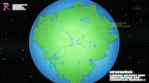 EP669 Mapa topográfico prehistórico del mundo Pokémon