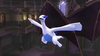 Lugia usando aerochorro en SSB4 Wii U