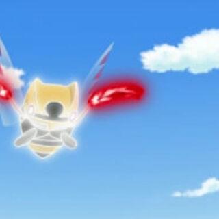 Ninjask usando su habilidad, <a href=