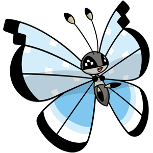 Vivillon tundra (dream world)
