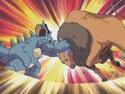 EP271 Tauros de Ash vs Nidoqueen de Gary