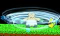 Abomasnow usando ventisca SSB4 3DS.png