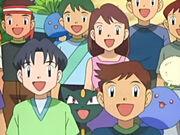 EP436 Entrenadores con sus pokémon