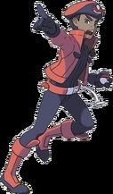 Pokémon Ranger hombre XY