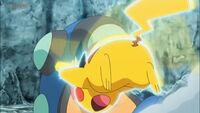 EP1063 Pikachu usando Ataque rápido