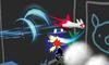 Latias usando ala de acero SSB4 3DS