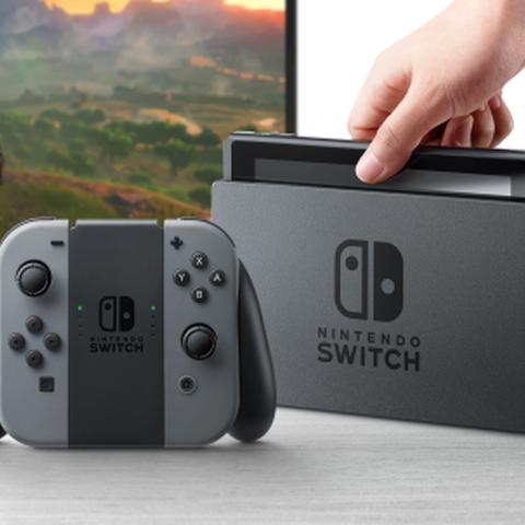 Nintendo Switch en su formato de sobremesa
