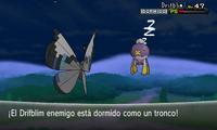 Pokémon dormido XY