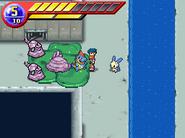 Pokémon Ranger Muk de la Red de aguas