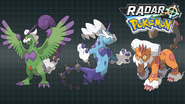 RAdar Pokémon