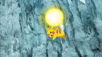 EP1063 Pikachu usando Cola férrea