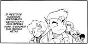 Personajes secundarios manga