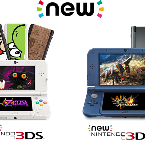 Comparación entre New Nintendo 3DS y New Nintendo 3DS XL