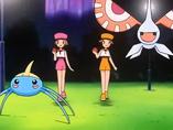 P07 Audrey y Kathryn con su Pokémon