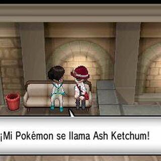 Cameo del nombre de Ash en <a href=