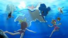 EP853 Bajo el mar