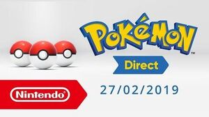 ESPESC Anuncio Pokémon Direct 2019