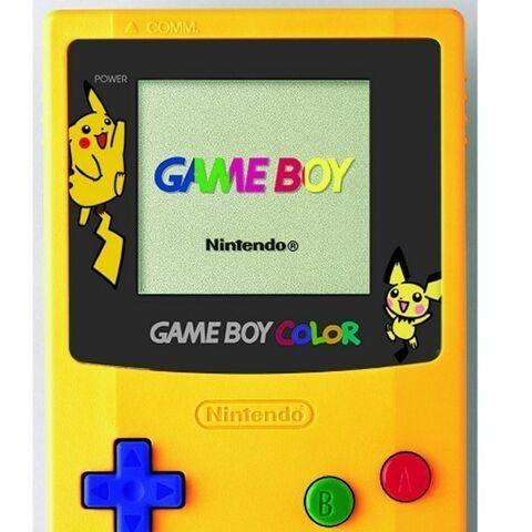 Game Boy Color edición especial Pokémon