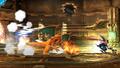 Greninja usando sombra vil SSB4 Wii U