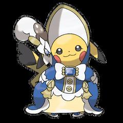 Pikachu aristócrata.