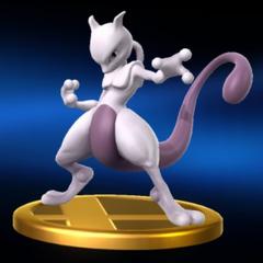 Trofeo de Mewtwo como luchador.