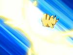 EP468 Pikachu usando girando