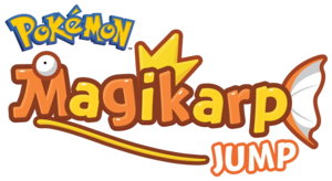 Logo Pokémon Magikarp Jump