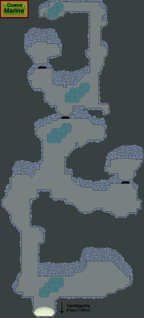 Plano de Cueva Marina