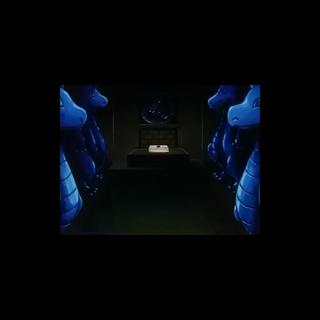 Sala del tesoro donde se encuentra el colmillo.