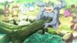 EP839 Machamp ayudando a los Pokémon