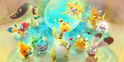 Equipo de investigación Pokémon Mundo Megamisterioso