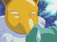 EP273 Hypno de Harrison intimidando Totodile de Ash