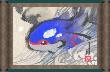 Lámina azul ROZA