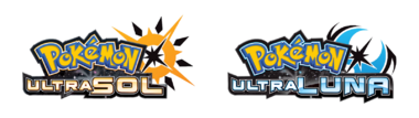 Logo Pokémon UltraSol y Pokémon UltraLuna