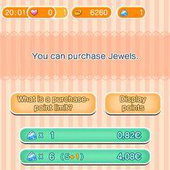 Precios de las joyas