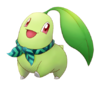 Chikorita Pokémon Mundo Megamisterioso