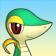 Cara de Snivy 3DS