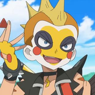 Maquillaje estilo Pikachu